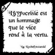 hypocrisie